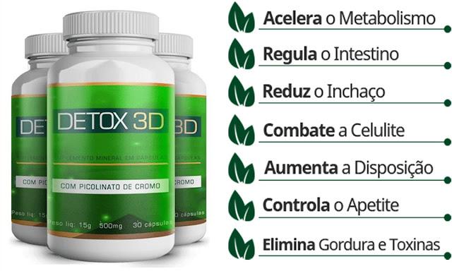 o que é detox 3d