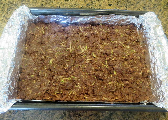So easy.  So moist.  So yummy!  You will never need another zucchini brownie recipe after this one.