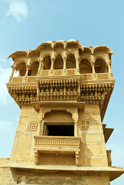 The Perfect 2 Days Jaisalmer Tour Itinerary, salim singh ki haveli