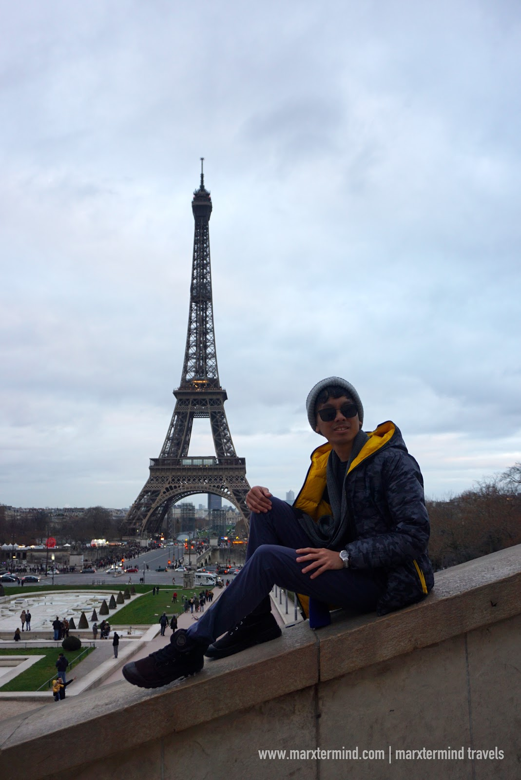 Paris Itinerary - marxtermind and the Eiffel Tower