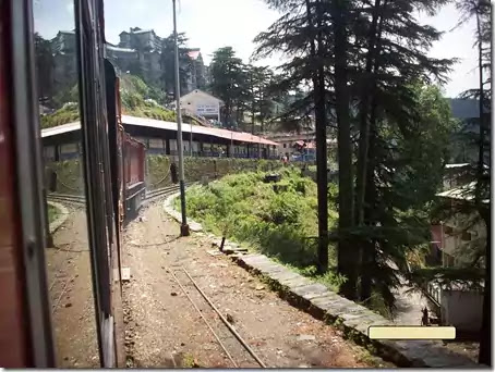 Shimla Station - Kalka Shimla Toy Train