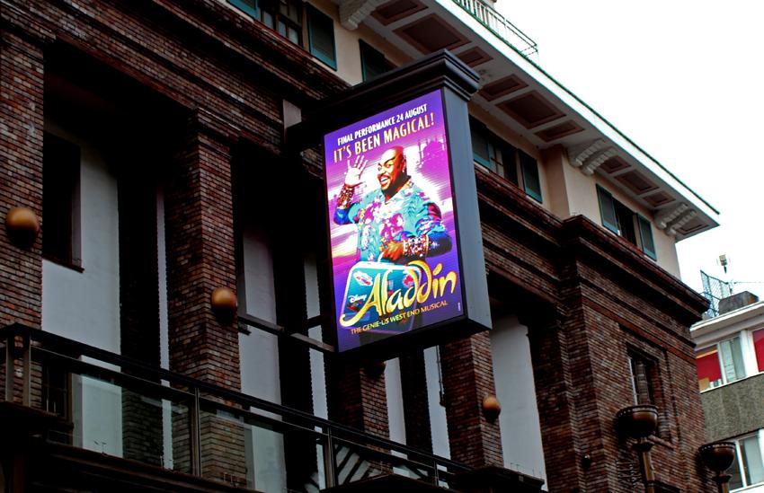 London Musicals  //  ALADDIN