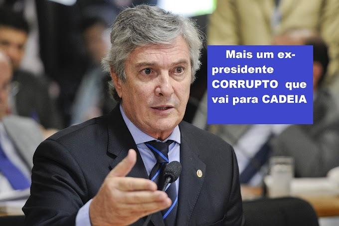 Fernando Collor preso pelos crimes de corrupção passiva e lavagem de dinheiro