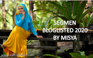 Segmen Bloglisted 2020 by Misya