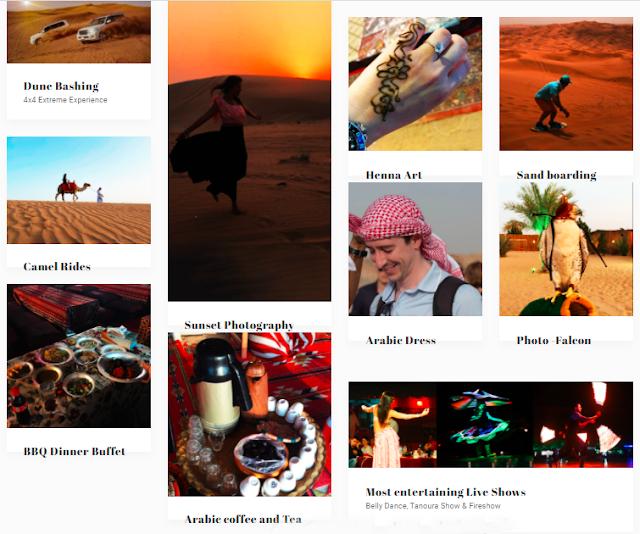 Dubai Desert Safari Experiences