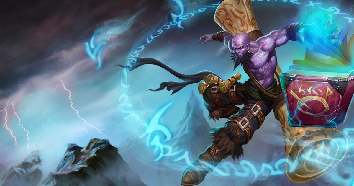 League Of Legends Ryze Wallpapers Chinese American