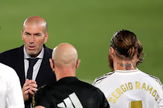 Zidane heaps praise on Ramos after his stunning free-kick against Real Mallorca