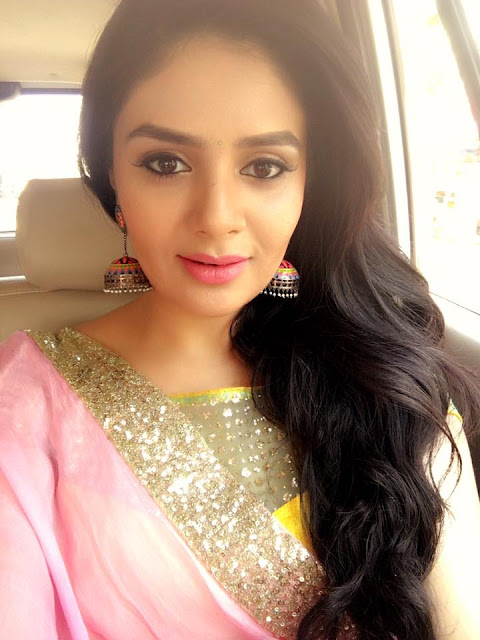 Sreemukhi Latest Stills at Srikakulam Shopping mall Inauguration