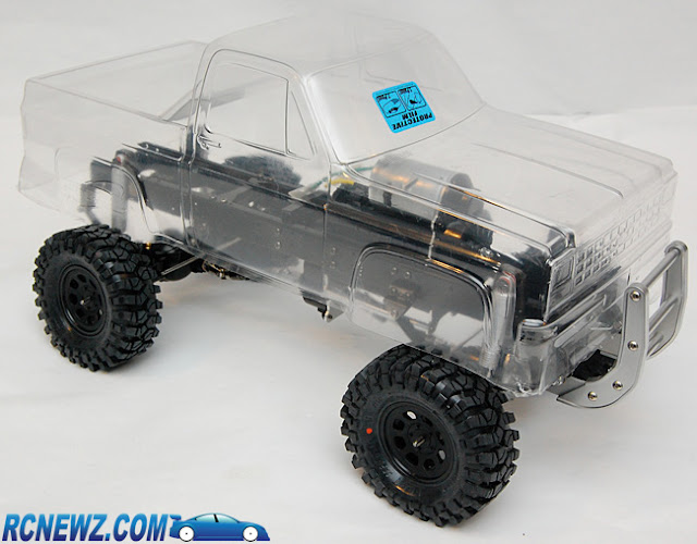 Tamiya High Lift custom body