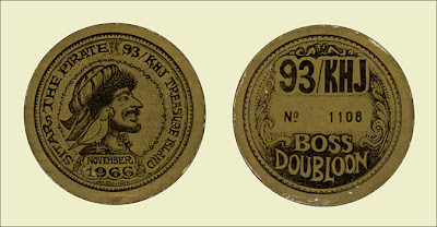 KHJ Boss Doubloon from Treasure Island