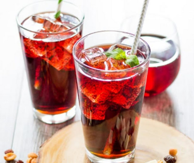 Red Wine And Cola Cocktail Sangaria Spritzer