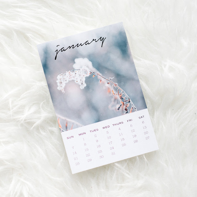 Free January Calendar Download #printable #calendar #january