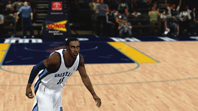 NBA 2K13 Mike Conley Cyberface Patch