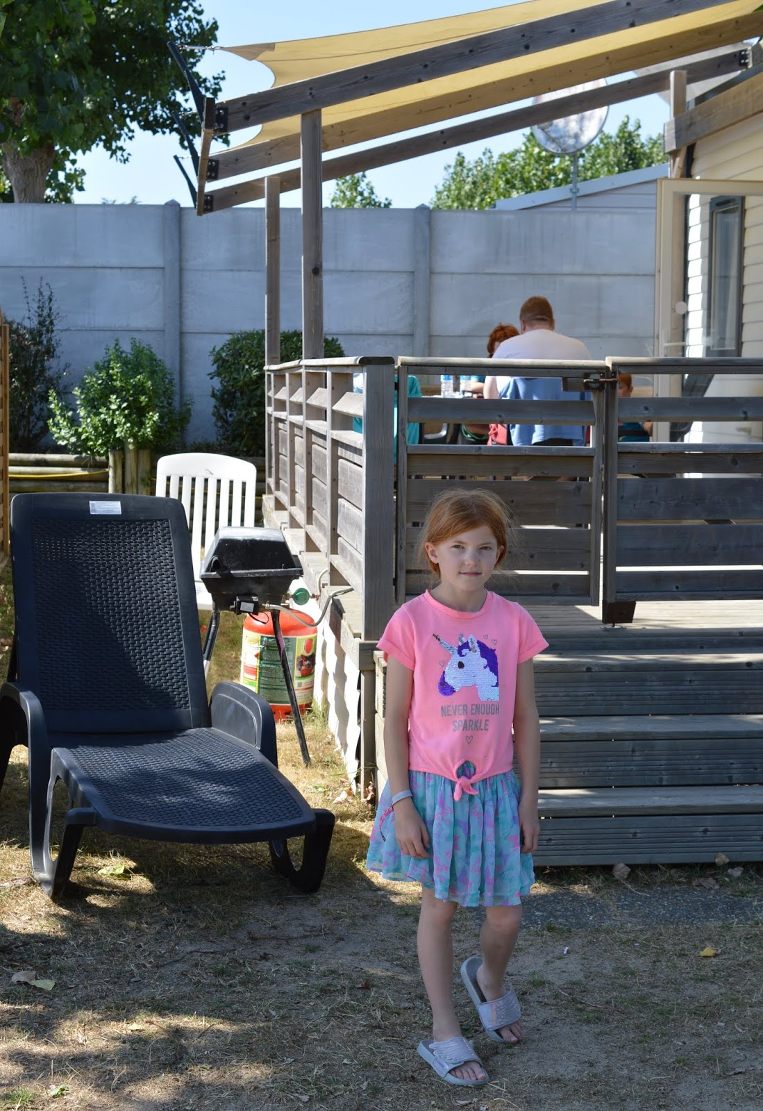 Les Ecureuils Campsite, Vendee - A Eurocamp Site near Puy du Fou (Full Review) - avant lodge outside