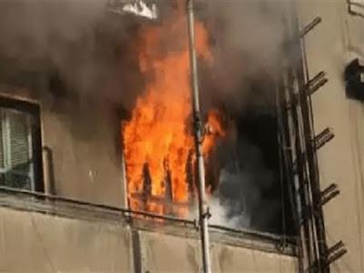 مصرع 3 أطفال أشقاء في حريق شقتهم بالشرقية