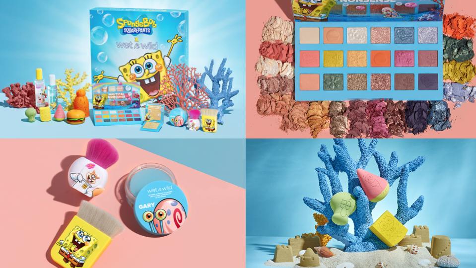 Wet n Wild x Spongebob Collection