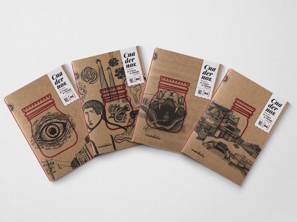 """""""Colección de Cuadernos de Frasco de Paisaje"""""""