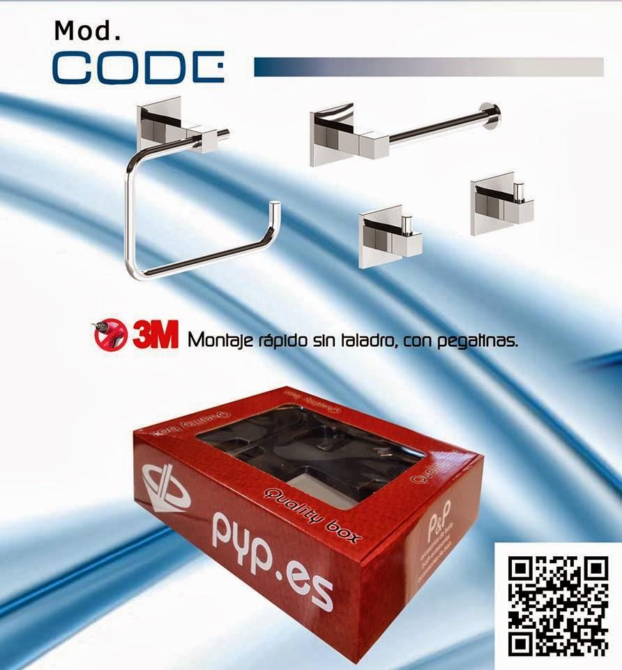 Una de las nuevas colecciones en accesorios de baño PyP de este año es el  catálogo Low Cost 2013. Una de las series a destacar es Code e2122e3f23c9