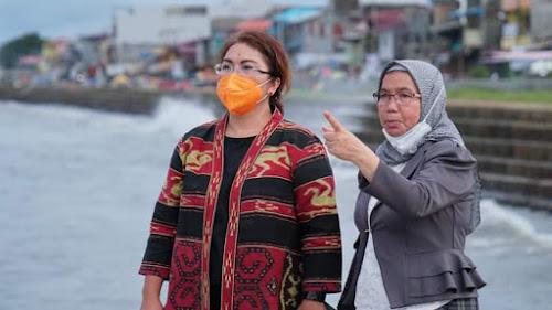 Sabrina Kagum Keindahan Kota Gunungsitoli, Pelabuhan Lama Jadi Pariwisata Andalan Kepulauaan Nias