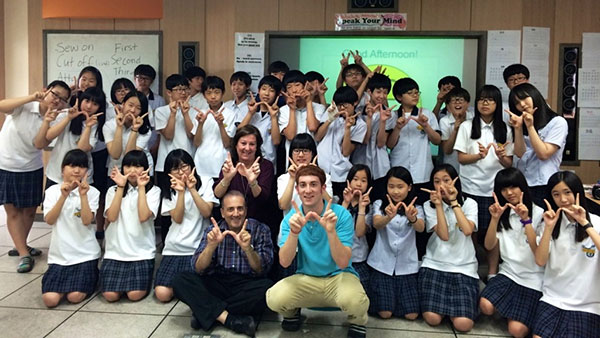 تدريس اللغة الإنجليزية في الخارج