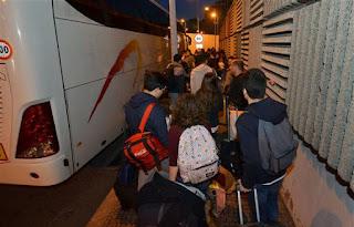 Estudantes expulsos de hotel em Espanha
