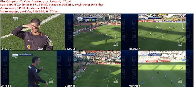 Primer Tiempo Final Copa America Uruguay Vs Paraguay