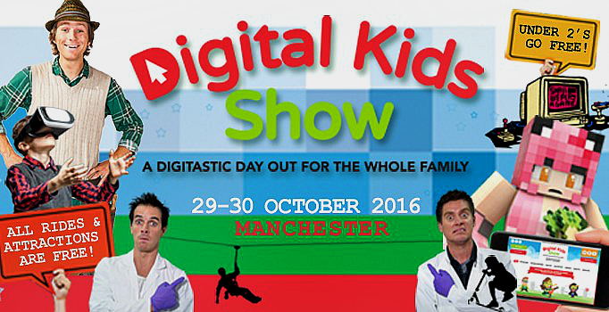 Autumn half term, Digital Kids Show, free Family event
