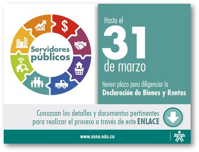 Declaración de Bienes y Rentas de Servidores Públicos