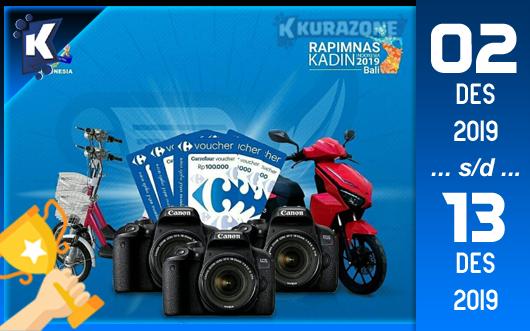 Kompetisi Blog - Kadin Berhadiah Motor/Sepeda Listrik + Sertifikat, Kamera DSLR dan Kupon Belanja