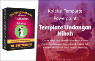 Wedding Invitation Maker Lisensi PLR