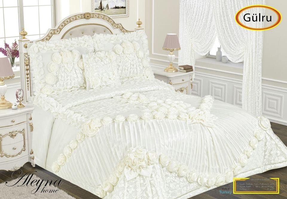Gülru yatak örtüleri