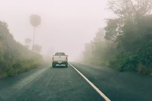 STAY SAFE WHILE DRIVING IN FOG