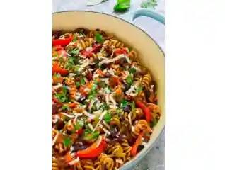 وصفات نباتية,وصفة باستا الباذنجان لذيذ,سريع,vegan recipes,eggplant pasta recipe,