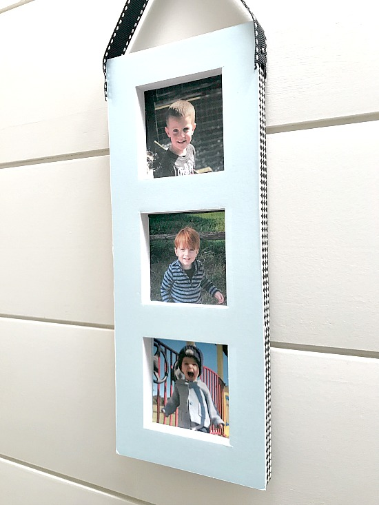 DIY Recycled and Repurposed Photo Frame. Homeroad.net