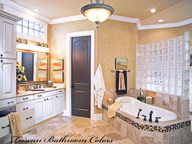 Tuscan Bathroom Decorating Ideas