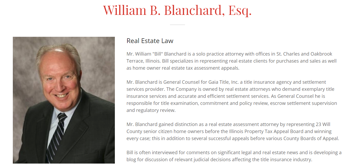 Awesome William B Blanchard Attorney At Law Wiring Digital Resources Funapmognl