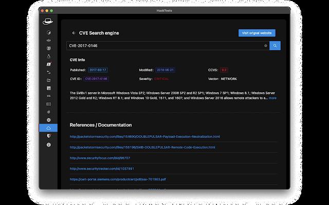 افضل ادوات الهكر على المتصفح HackTools