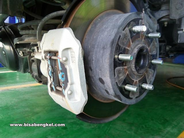 Kelebihan Dan Kelemahan Dari System Rem Disc Brake Roda Belakang Pada Kendaraan