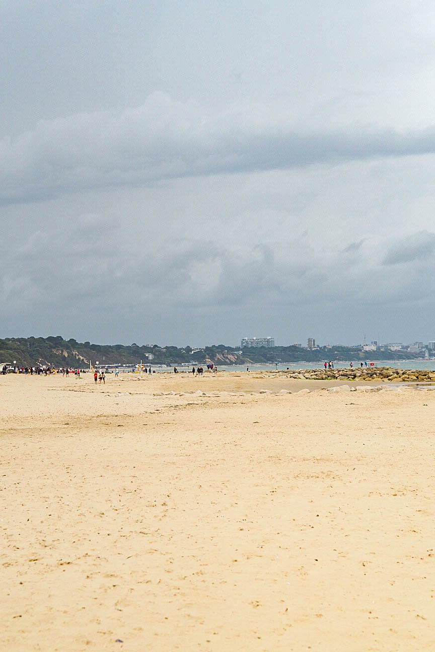 Sandbanks beach, Poole