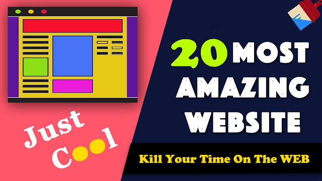Interesting Websites where you can Kill time on the net.Most Interesting Websites Kill Your Time On The WEB