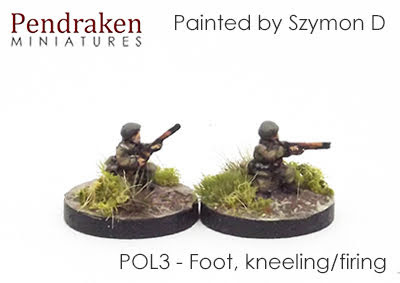 POL3 Foot, kneeling/firing