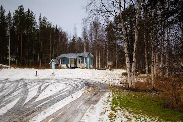 Strade nei dintorni di Rovaniemi
