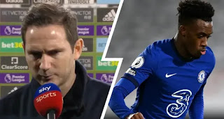 Frank Lampard on Callum Hudson-Odoi benching in Fulham win: 'He did deserve to start today'
