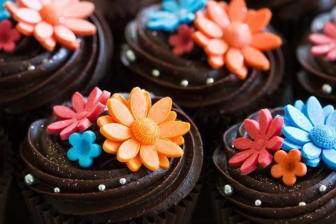 Sobremesa, Cupcake, Chocolate, Fofinho