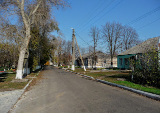 Александро-Калиново. Ул. Танкистов
