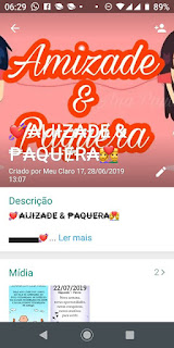Amizade e Paquera - Grupo do WhatsApp