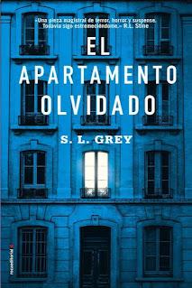 """""""El apartamento olvidado"""" de S.L. Grey"""
