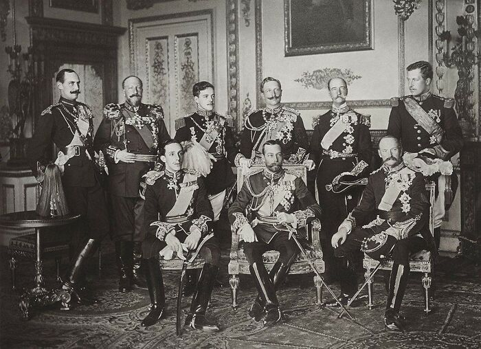 #26 May 20, 1910: The Nine Kings Of Europe Photographed Together For The First And Only Time