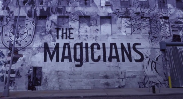 The Magicians Title Card