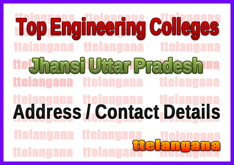 Top Engineering Colleges in Jhansi Uttar Pradesh